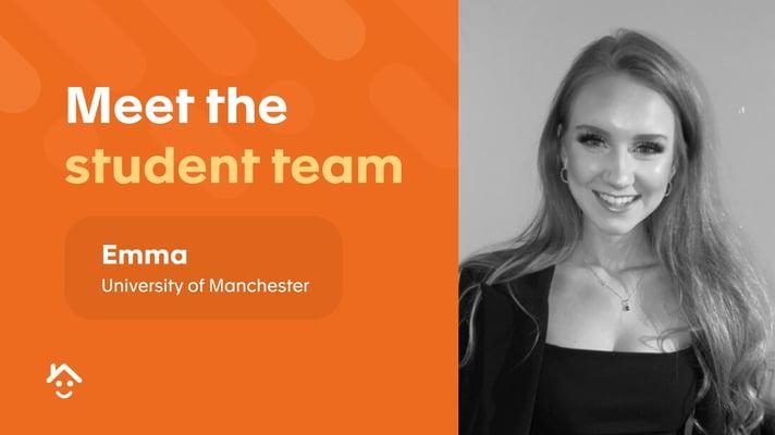 Meet the student team - Emma