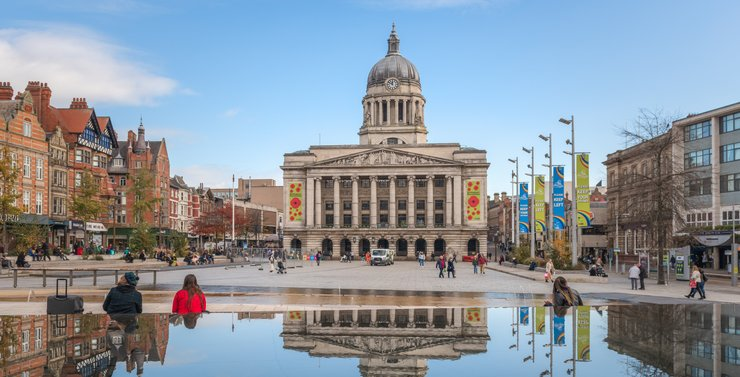 Find Student Accommodation in Lace Market, Nottingham